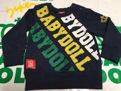 ベビードール☆ロゴトレーナー80ベビドBABYDOLL