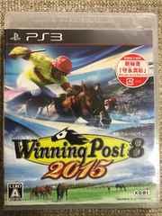 ウイニングポスト8 2015 新品未開封 初回コード付き PS3
