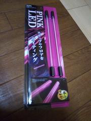 ★新品 シガーソケット用 LEDイルミネーション ステップ&フロアライティング ピンク 2本★
