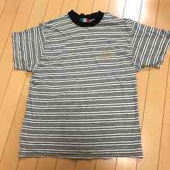 GIANNI VALENTINO ◆ ボーダー 半袖Tシャツ M