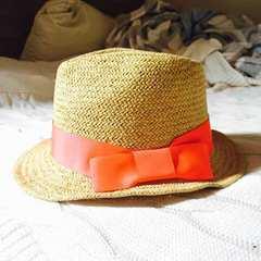 VICKY ビッキー 麦わら帽子 ハット ネオンカラー
