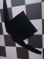 G.U   Lサイズ 黒のニット セーター