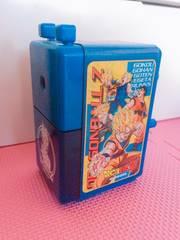 希少レア*ドラゴンボールZ 手動鉛筆削り器 青ブルー送料込み
