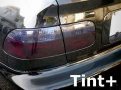 Tint+糊残りナシ シビックEG4/EG6ハッチバック専用テールランプ スモークフィルム