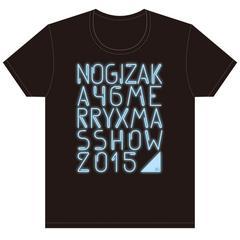 即決 乃木坂46 Tシャツ Merry X'mas Show 2015 _ ブルーver. S