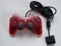 PS2 アナログコントローラ クリムゾンレッド 動作確認済Used