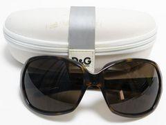 D&G ディーアンドジー サングラス 濃茶系 D&G 8018