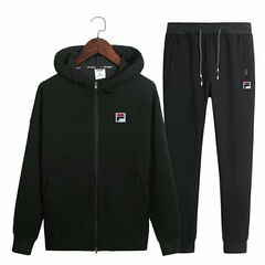 FILA フィラ セットアップ新品 XLサイズ ブラック