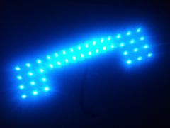 AZワゴン&ワゴンR/MH21s~MH23s@LED@42連ルームランプギッシリ基盤タイプ青ブルー