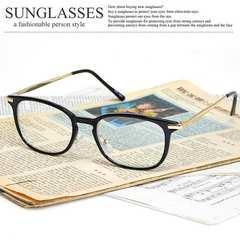 新品 ウォリントン型 サングラス メンズ レディース クリアレンズ 伊達眼鏡 SM78