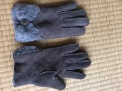 UGG★アグ★手袋★新品グレー本物