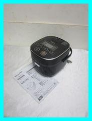 シャープ炊飯器3合タイプ(黒厚釜&球面炊き)KS-C5J-Bブラック2016年製