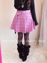 新品*ツイード フレア スカート