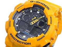 カシオ Gショック 黄色 GA−100A−9A