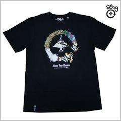 即決◆新品LRG Tシャツ M◆ストリートB系スケーターサーフHIPHOP黒◆2014