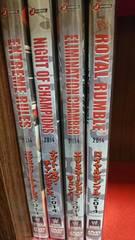 WWE DVD 2014 日本国内版5本まとめ売り/WCWスティング等