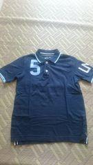 Gap♪紺色ポロシャツ♪美品♪140