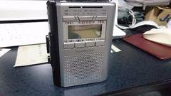ラジオつきカセットレコーダー