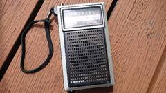 昭和のラジオ サンヨーのラジオ(AM-FM)