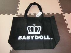 ♪新品 BABYDOLL 王冠ロゴトートバッグ Lサイズ♪
