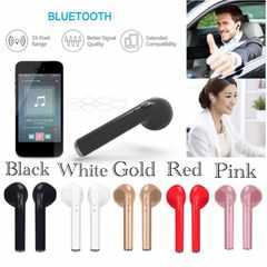 Bluetooth イヤホン ワイヤレス マイク 両耳 USB充電 ゴールド
