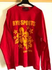 美品 RYU ロンTシャツ 赤