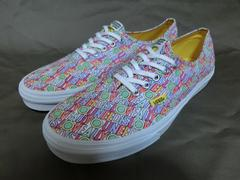 限定 The Beatles【ALL YOU NEED IS LOVE】Vans Authentic28.0�a