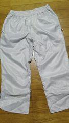 送料込 美品 トレーニングパンツ 八分丈 ニューバランス NB メンズ M シルバーホワイト