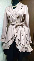レア商品☆axes femmeのたっぷりフリル使いふんわりドレッシーな春コート