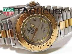 良品 1スタ★タグ・ホイヤー 3000プロ【スイス製】コンビ 腕時計