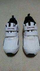 SPALDING 樹脂製爪先芯入りスポーツ・スニーカー/安全靴☆