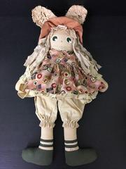 4836 ハンドメイド アメリカンカントリー 可愛い人形 大きい