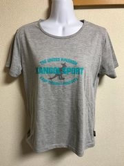 ★KANGOL SPORTS グレー×Tシャツ  L★