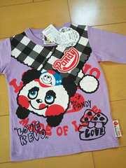 新品パンディすたいるロングTシャツ120紫ラブレボリューション ラブレボ
