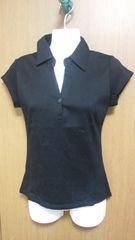 ミッシュマッシュ半袖襟つき カットソー  XS