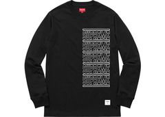 L Supreme Stacked L/S Top ロンT ブラック 黒