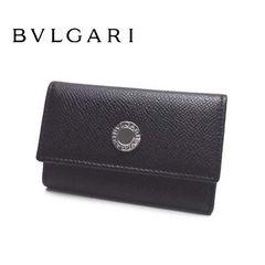 正規品 訳あり特価【BVLGARI 6連キーケース】ブラック