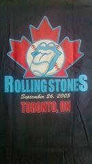 ローリングストーンズ2005ツアーTシャツ 新品正規 トロント ご当地限定