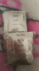 NOVノブL&Wウォッシングフォーム泡状洗顔サンプル
