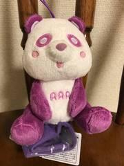AAA♪え〜パンダ 肩のりぬいぐるみ【宇野実彩子】紫
