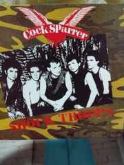 コックスパラー COCK SPARRER / SHOCK TROOPS (パンク/ロックンロール)