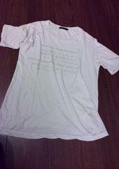 iroquois イロコイ/英語染み込みプリントTシャツ1/清春 パラノイド