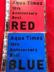 Aqua Timez 10th Anniversary Best RED BLUE ベスト