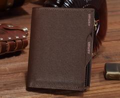 送料無 パスケース多機能二つ折財布 カード7枚 札入2口 小銭入