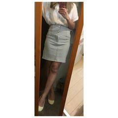 Visalia*チェックタイトスカート♪