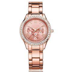 レディース 腕時計 クリスタル ローマ数字 イタリアデザイナー
