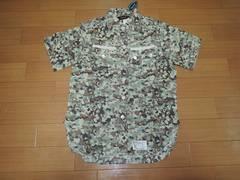 UNRIVALEDアンライバルド迷彩柄ミリタリーシャツ1半袖ワーク