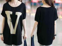 《新品》ロゴTシャツ ブラック フリーサイズ