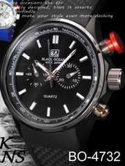 スポーツモデル♪スタイリッシュなデザイン腕時計★Black Oceans