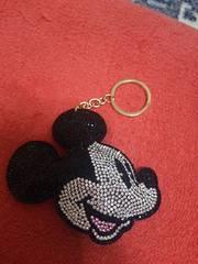 ミッキーマウス ★ キラキラキーホルダー